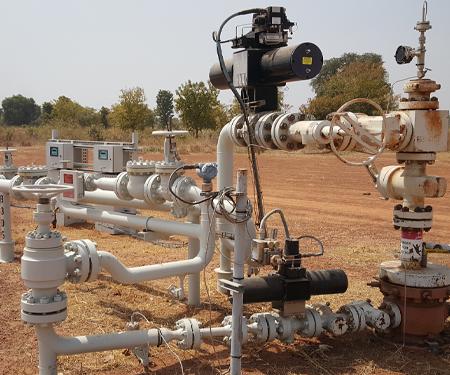 REXA Upstream Installation 1