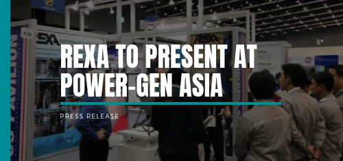 REXA will be at Power-Gen Asia from September 3-5!