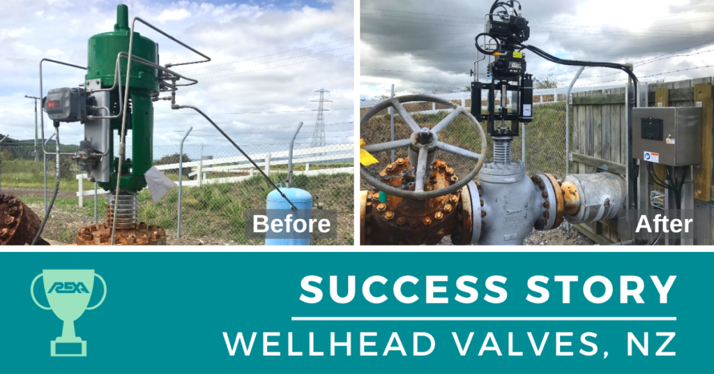 Success Story - Wellhead Valves