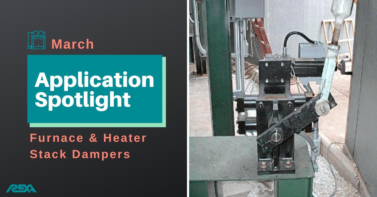 Furnace Heater Stack Dampers