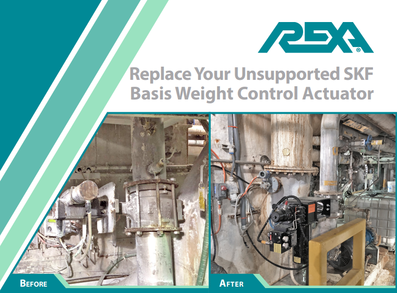 Replace Your SKF Basis Weight Control Actuator