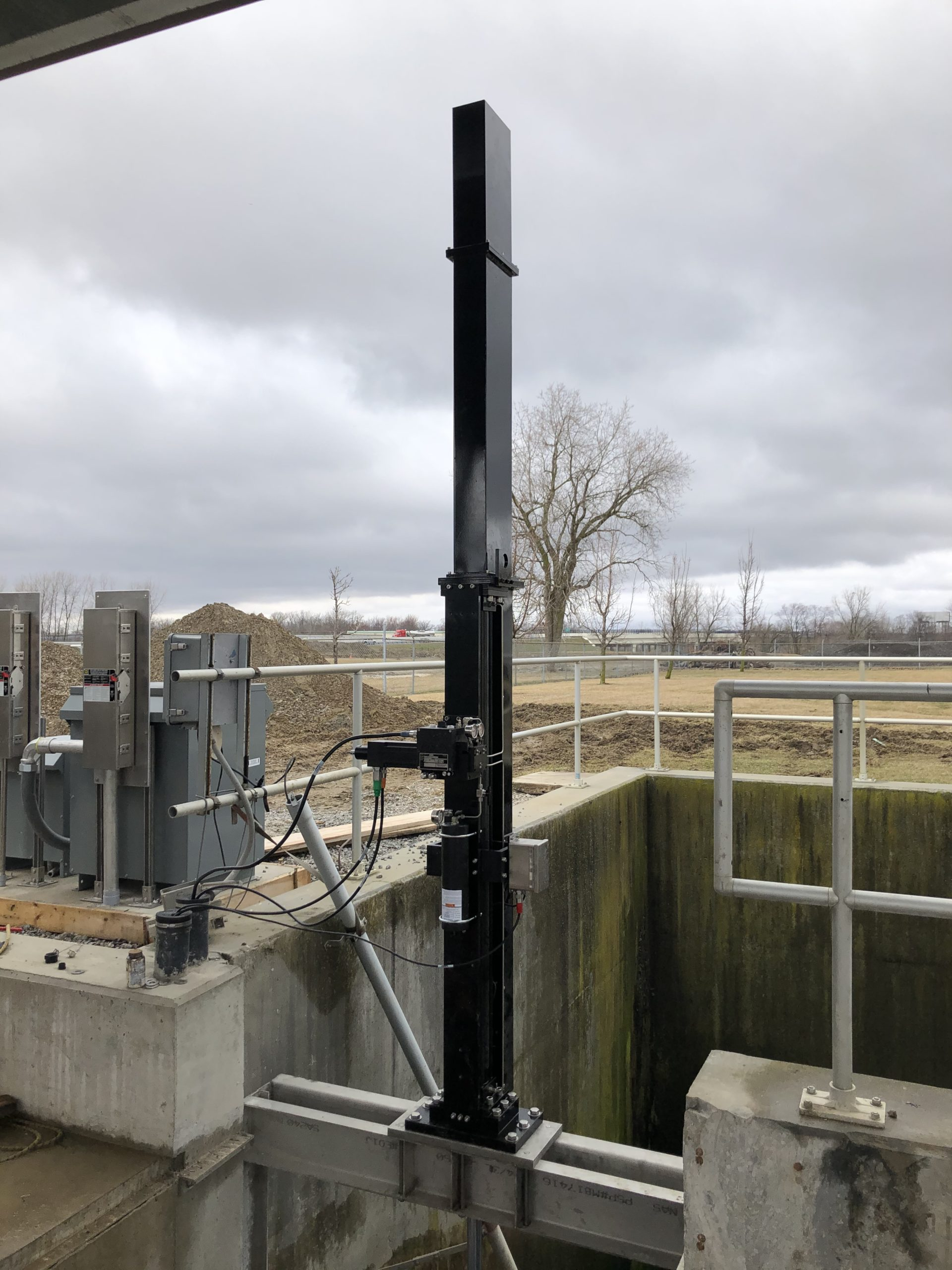 Water/Wastewater install