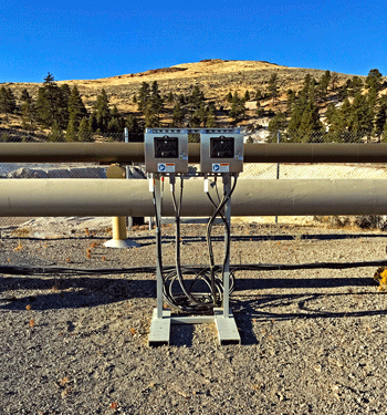 REXA Electric subassemblies on geothermal injection well