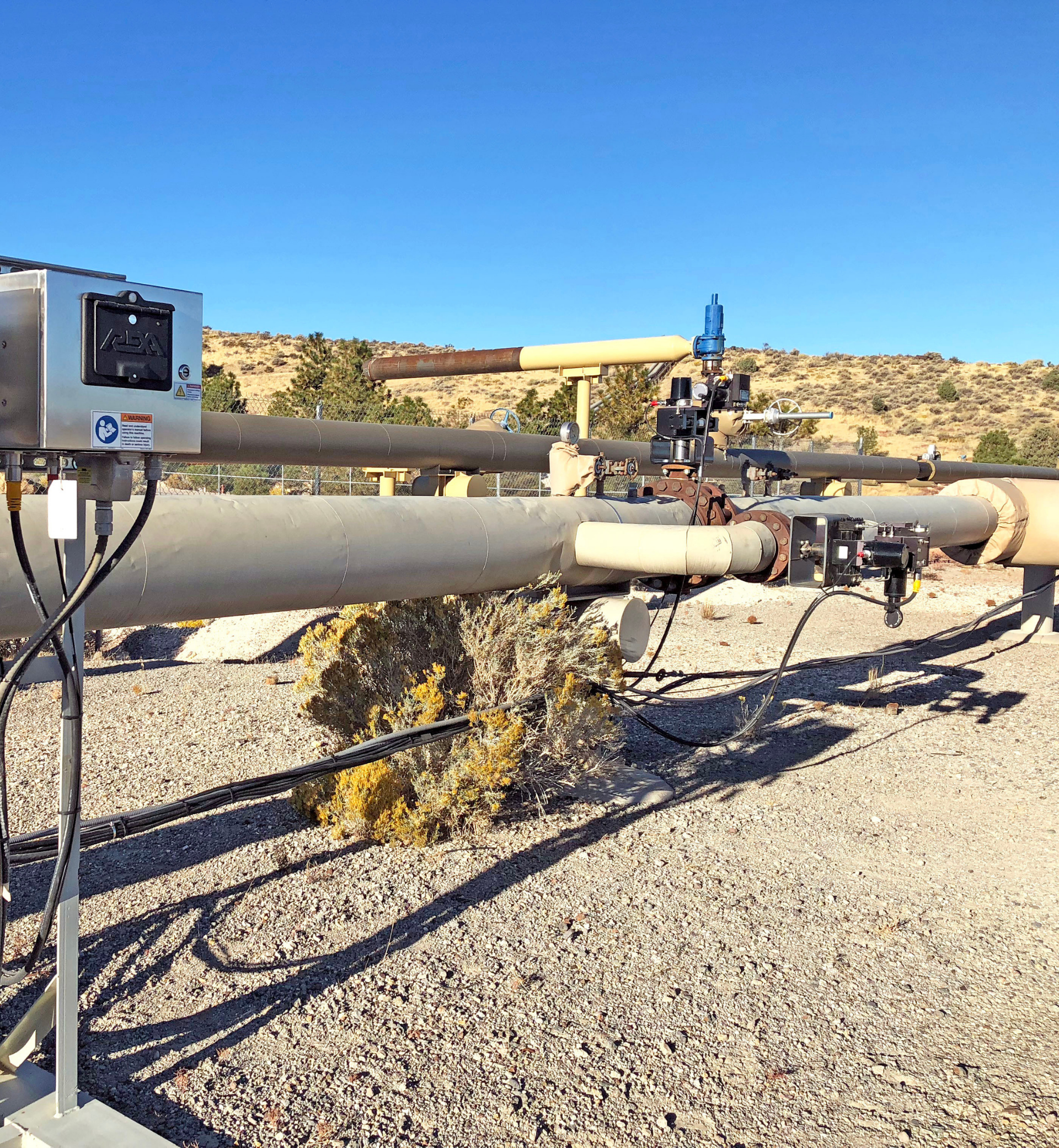 Geothermal Injection Well with Mechanical Assembly